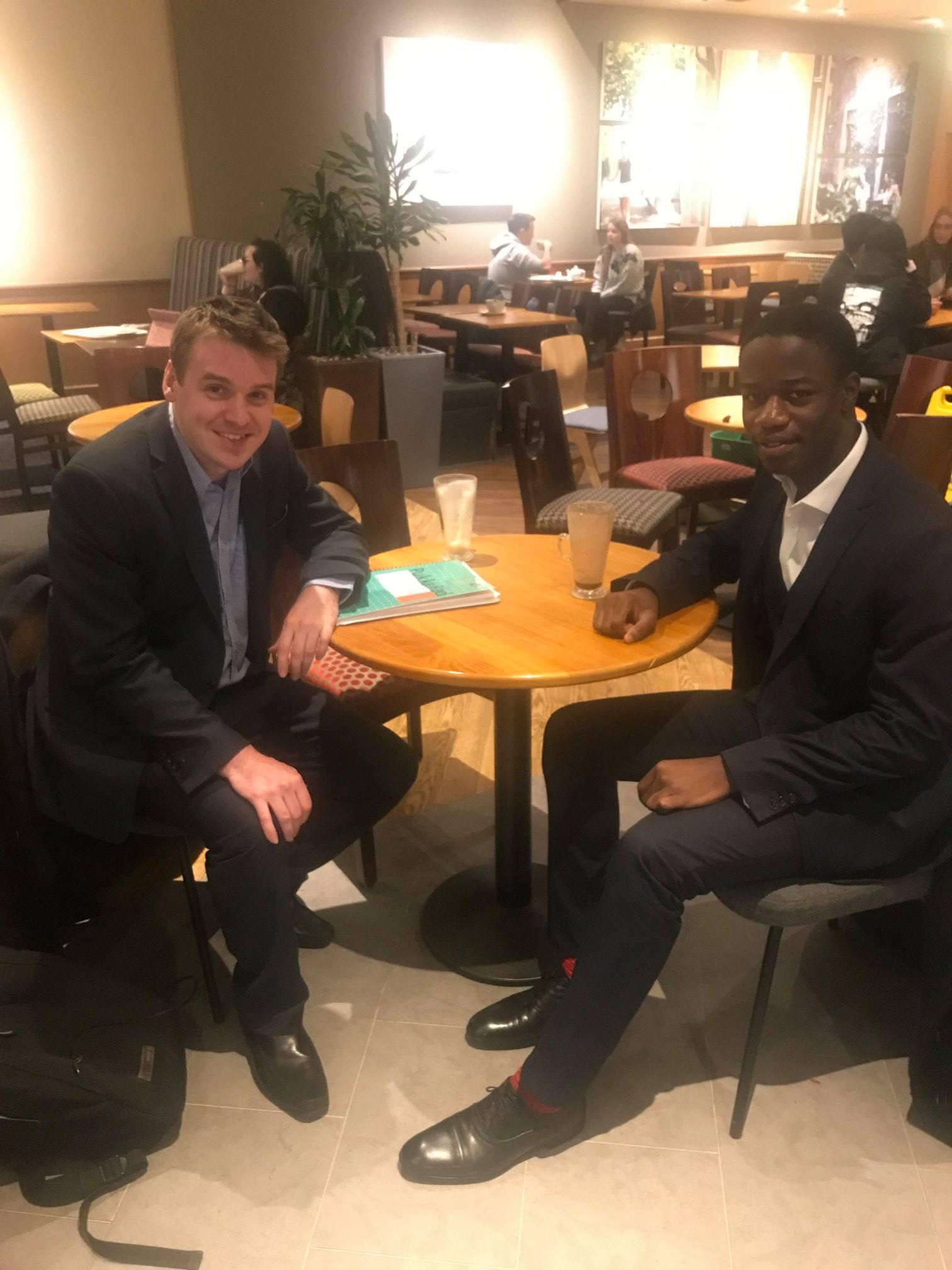 Meeting Isaac Codjoe – Ipswich Youth MP
