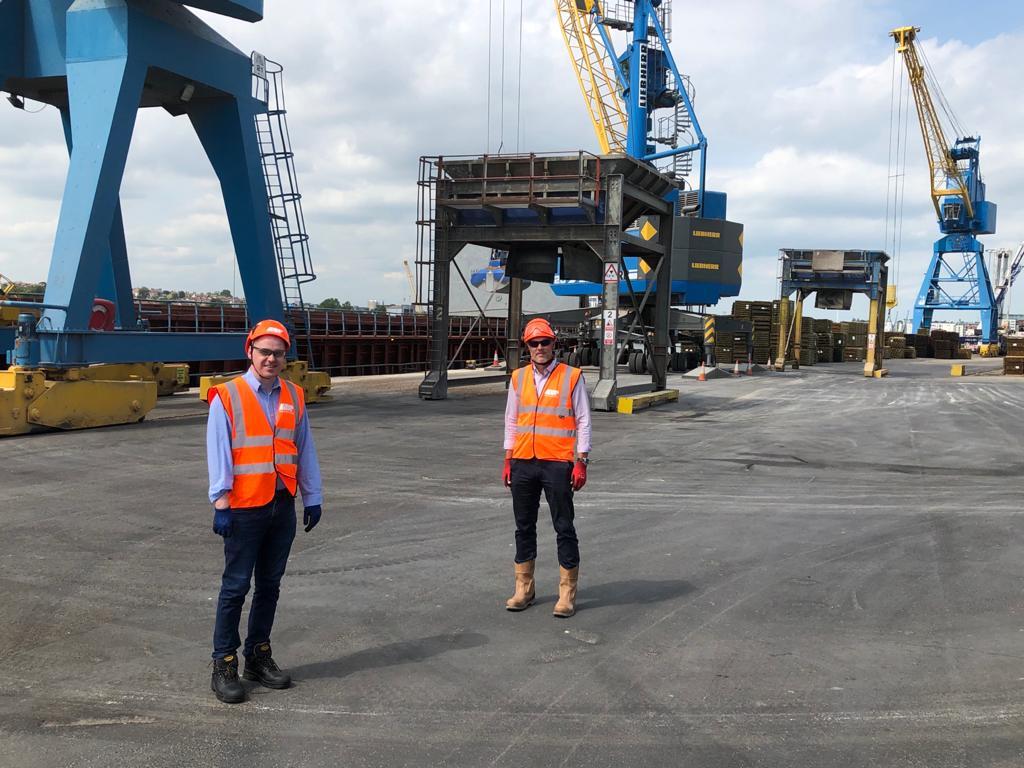 Visit to Port of Ipswich