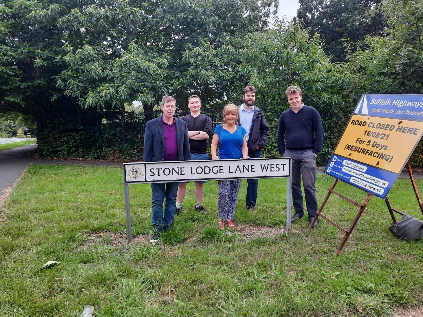 Stone Lodge Lane West Resurfacing