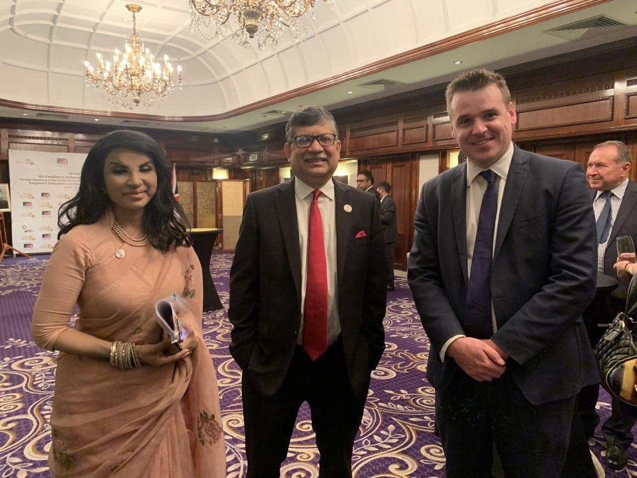 Meeting Foreign Secretary of Bangladesh