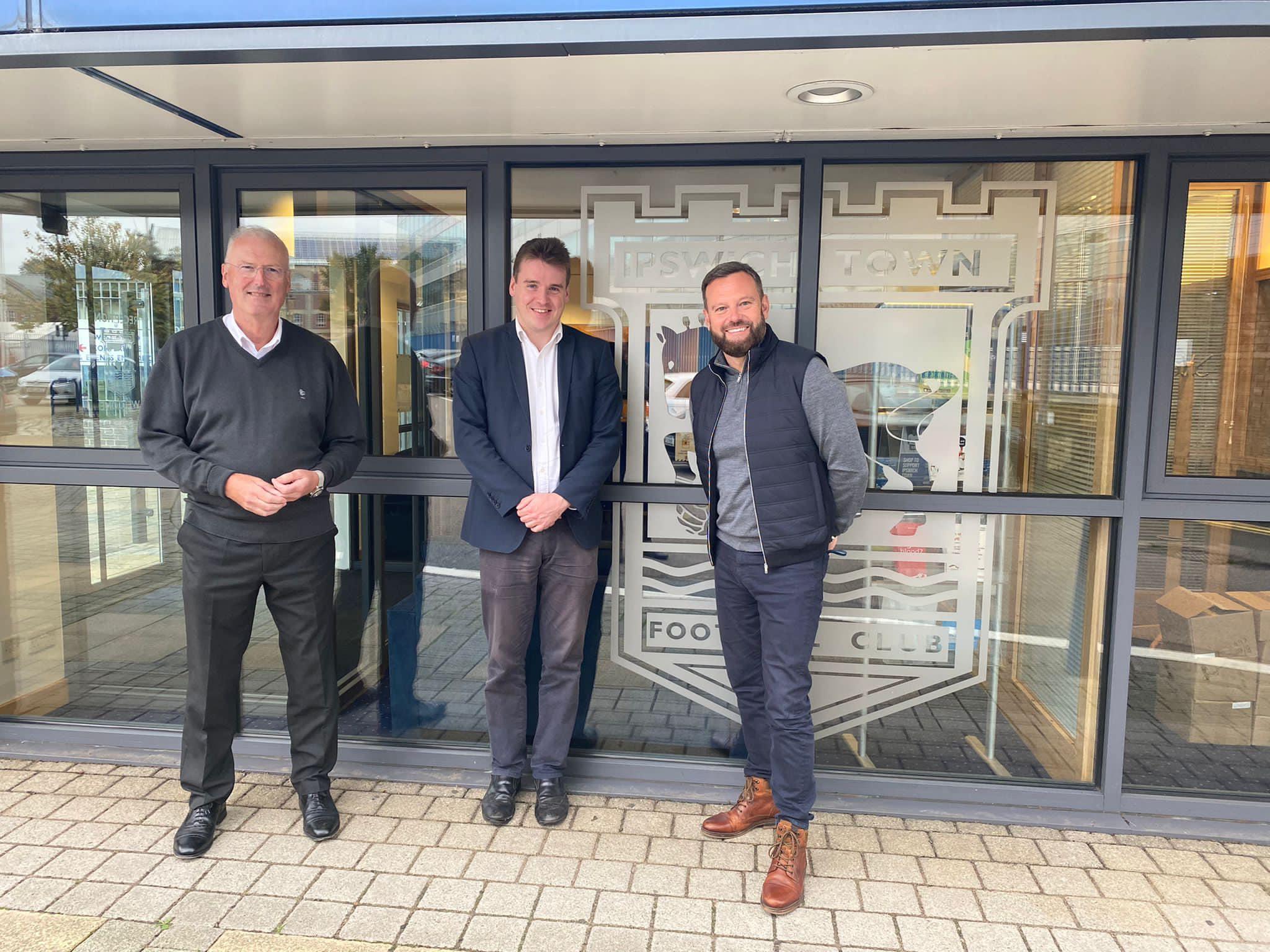 Meeting the new leadership team at Portman Road
